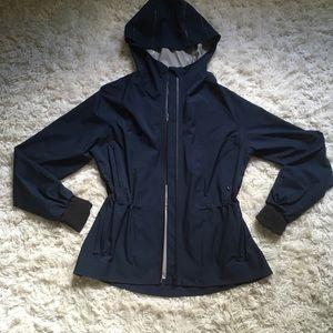 Lululemon Hoodie Rain Jacket Blue size 4